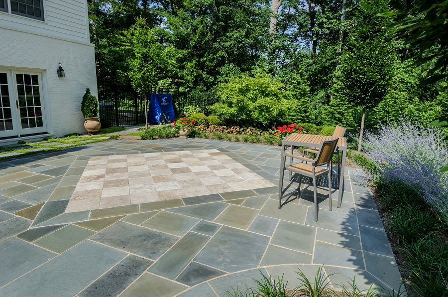 Travertine or Flagstone Patios? Your Backyard Wins Either Way